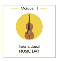International Music Day vector image