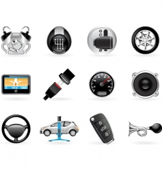 car options vector image