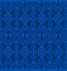 Ethnic seamless pattern tribal kilim vector