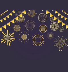 festive light background vector image