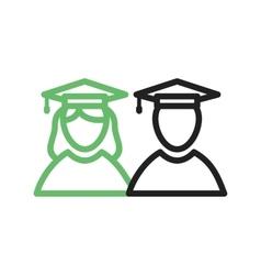 Graduates vector