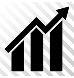 Growth Chart Icon vector