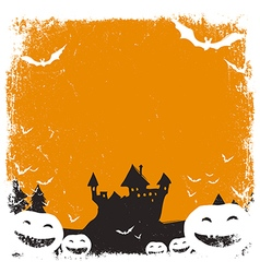 Halloween background isolated vector