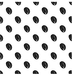 men clothes button pattern seamless vector image