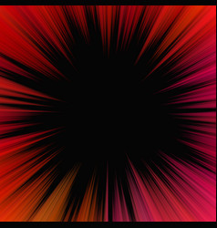 red abstract psychedelic starburst background vector image