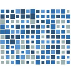 Squares pixelated block pixels random mosaic vector