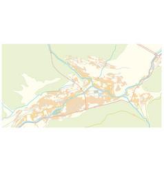 street map capital andorra andorra la vella vector image