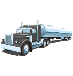 Tanker truck vector