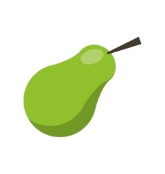 harvest pear fruit nature vector image