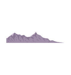 mountain peak nature high image vector image vector image
