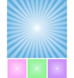 radial bg vector image vector image