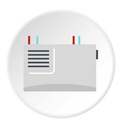 Wall router icon circle vector