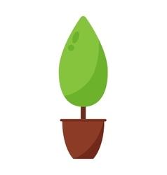 Garden tree vector image