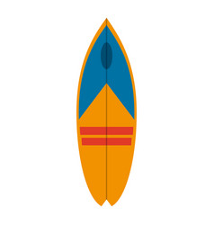 surf table isolated vector image