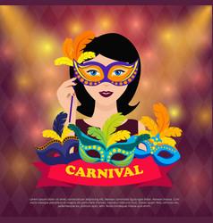Ball carnival design vector