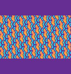 blockchain concept isometric banner digital vector image
