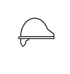 constructor helmet icon vector image