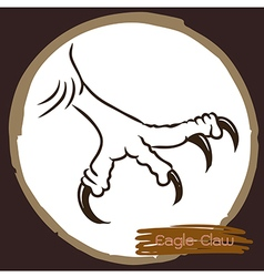 Eagle claw 1 vector