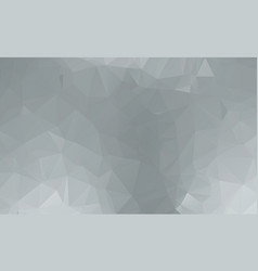 gray white polygonal which consist of triangles vector image