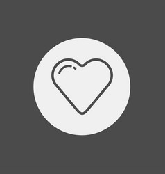 heart icon sign symbol vector image