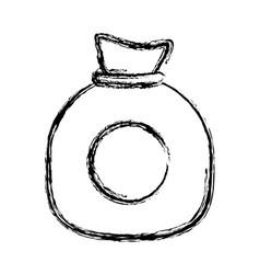 Moeny sack icon vector