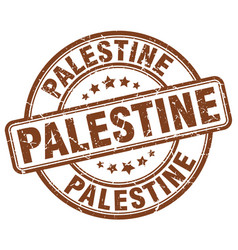 Palestine stamp vector