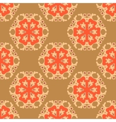 Seamless pattern boho chic vector image