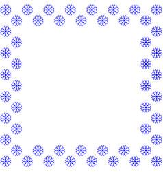 Snowflake frame 3010 vector