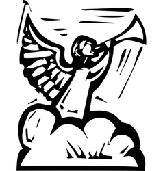 Angel Trumpet vector image vector image