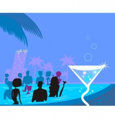 pool party vector image vector image