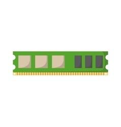 Memory slot vector image