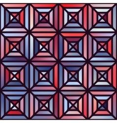 Seamless Gradient Mesh Square Blocks vector image vector image