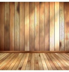 Empty interior with copyspace EPS 10 vector image vector image