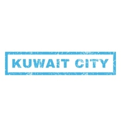 Kuwait City Rubber Stamp vector image vector image