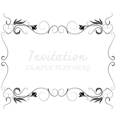 Invitation368 vector image