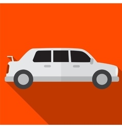 Limo flat icon vector image
