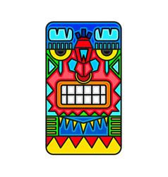 Mayan warrior designed vector
