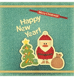 New years card vector