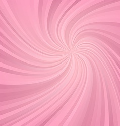 Pink spiral pattern background vector