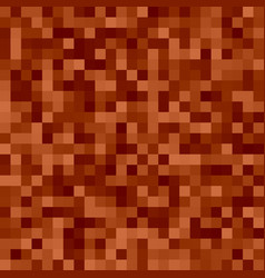 Pixel square tiled mosaic background vector