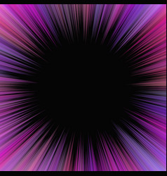 purple abstract psychedelic star burst background vector image