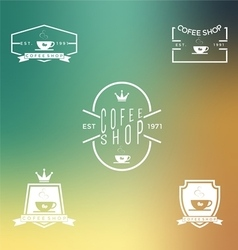 Set of coffee shop 2 vector image