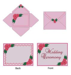 Wedding-card vector