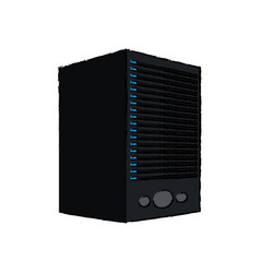 dataserver center system storage information vector image