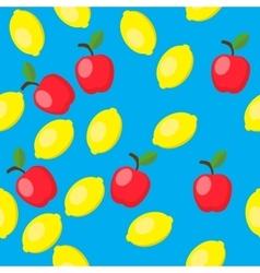 lemon with soft shadow vector image