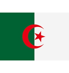 Flag of Algeria vector image