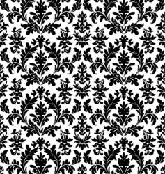 floral wallpaper seamless vector image vector image