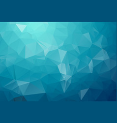 blue light polygonal which consist of triangles vector image