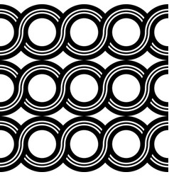 design seamless spiral twisted pattern vector image