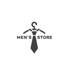 Mens store logo vector